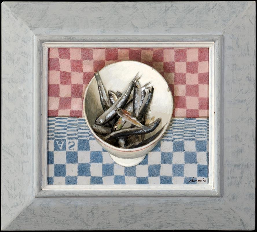Ansjovis – 2012 – 26 x 30 cm – niet beschikbaar