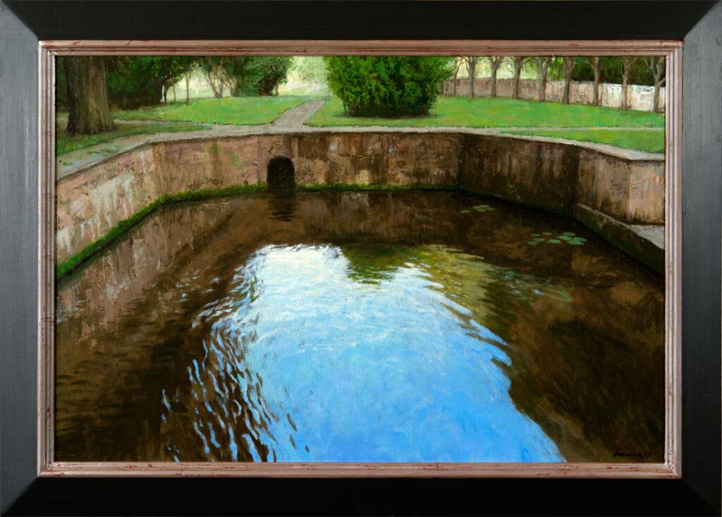 Basin – 2018 – 90 x 60 cm – acryl op linnen – beschikbaar