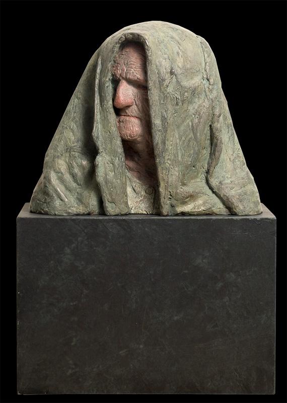 Beschut – 2009 – brons gepolychromeerd – beschikbaar