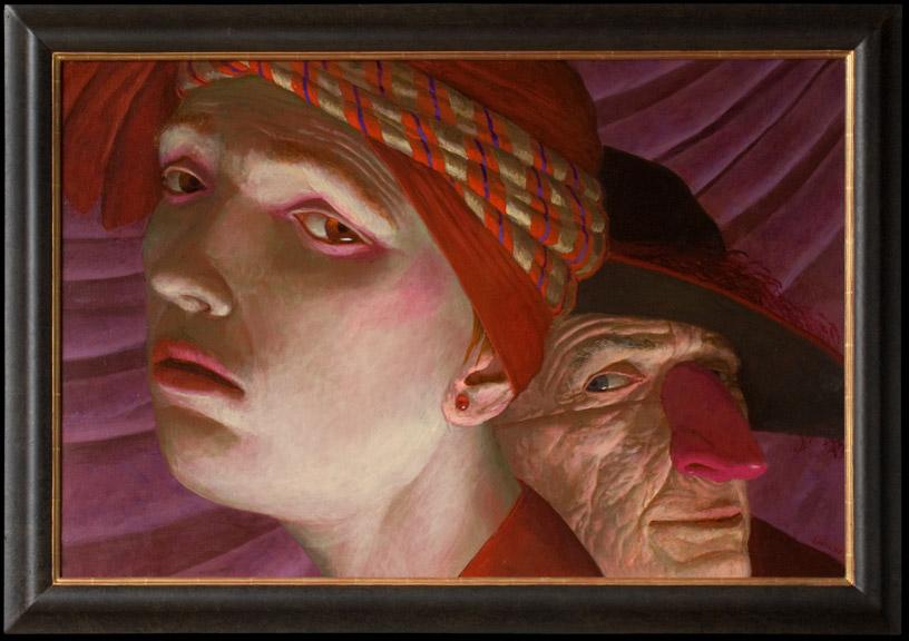Bonjour Tristesse – 2008 – 80 x 120 cm – acryl op linnen – beschikbaar