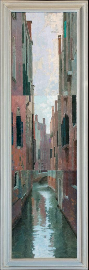 Canal 2 – 2010 – 180 x 50 cm – acryl op paneel – niet beschikbaar