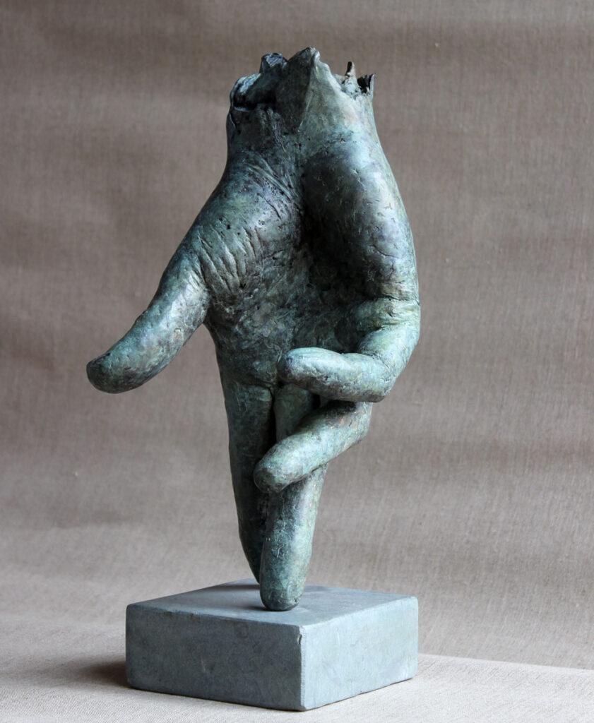 De Loper 2 – 2016 – 33 cm – brons – beschikbaar