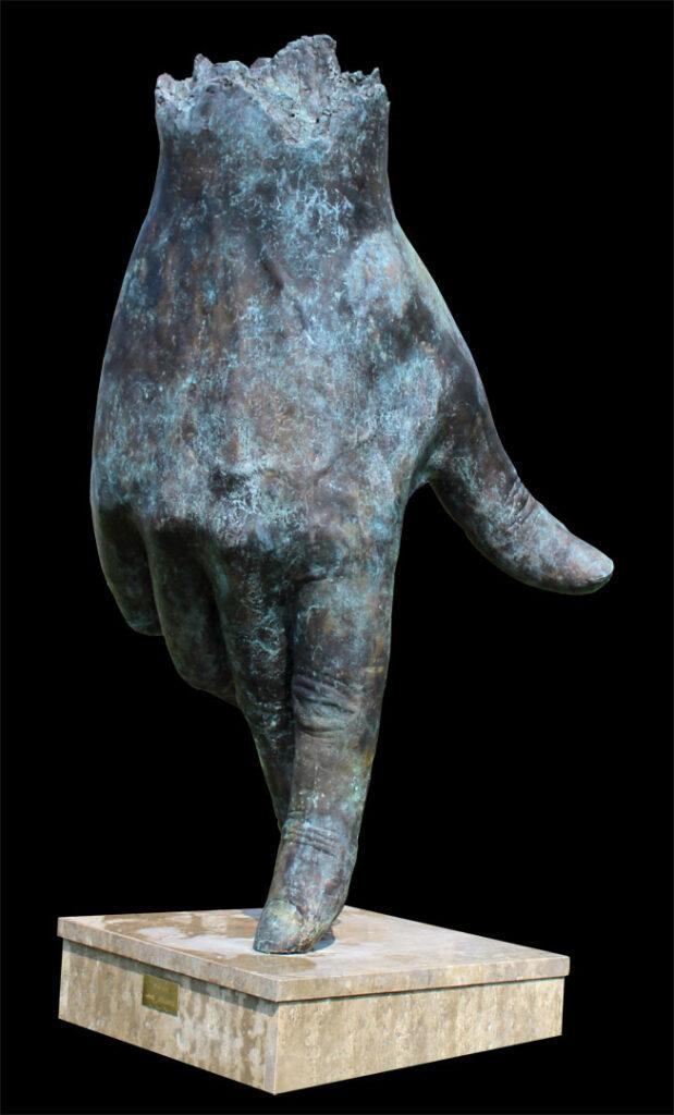 De Loper 4 – 2016 – 175 cm – brons – beschikbaar