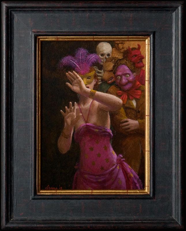 Demonen – 2012 – 38 x 25 cm – niet beschikbaar
