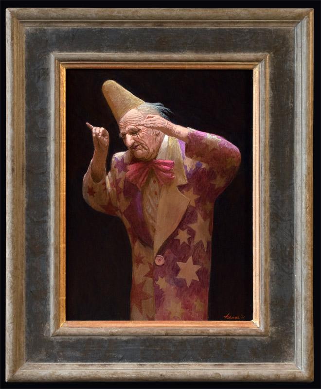 Dirigent – 2011 – 40 x 30 cm – acryl op paneel – niet beschikbaar