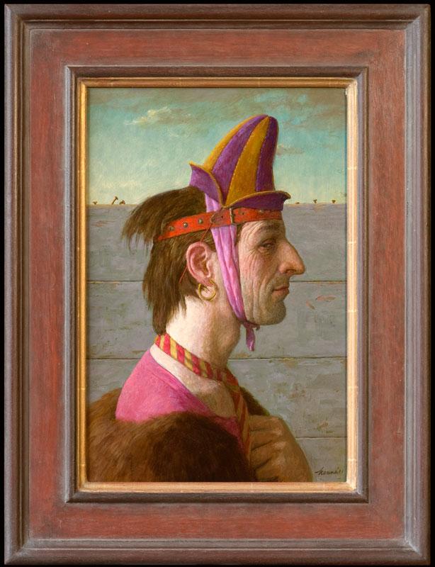 Don Juan – 2011 – 30 x 45 cm – acryl op paneel – niet beschikbaar