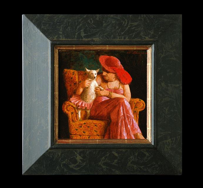 FIFI I – 2007 – 20 x 20 cm – niet beschikbaar