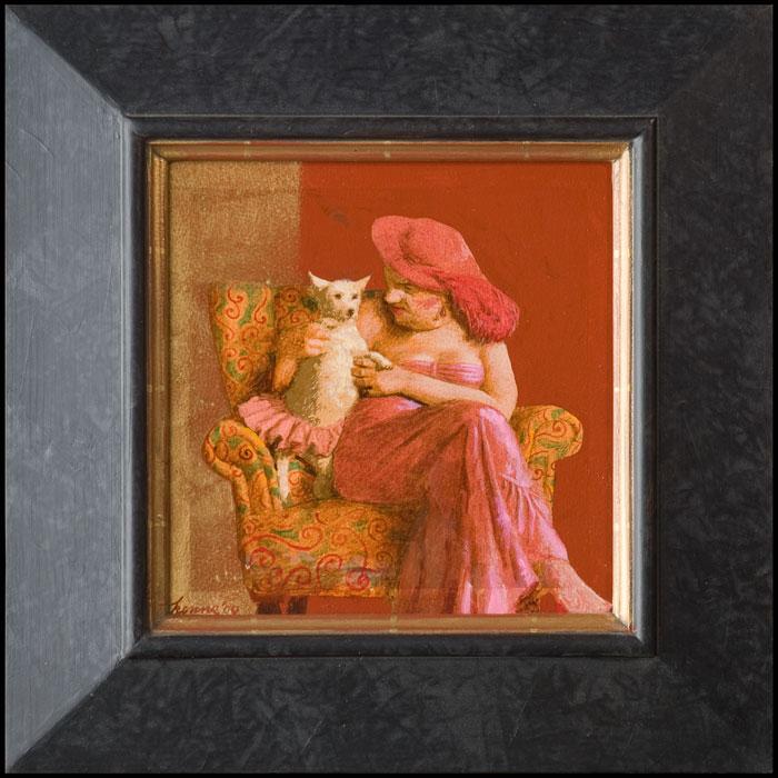 FIFI III – 2007 – 20 x 20 cm – niet beschikbaar
