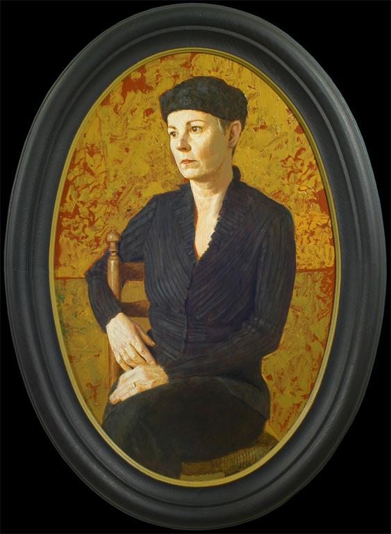 Ingrid – 2004 – 60 x 40 cm – acryl op paneel – niet beschikbaar