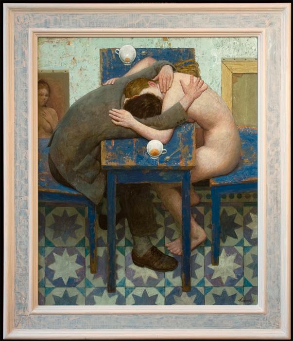 Intimiteiten – 2011 – 75 x 62 cm – acryl op paneel – niet beschikbaar