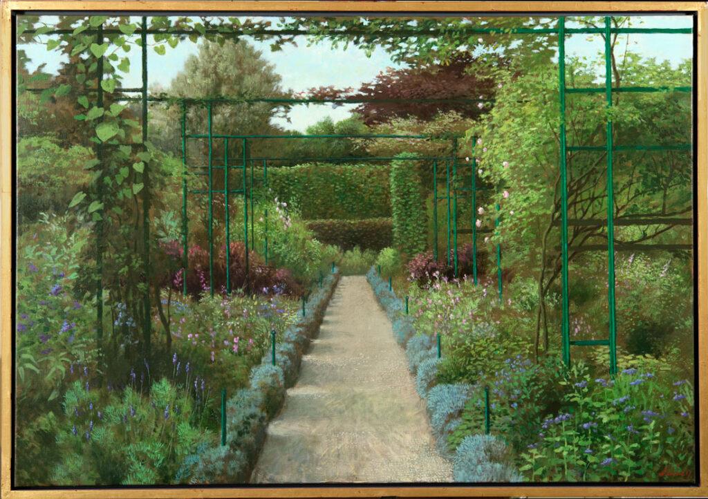 Jardin Monet – 2018 – 130 x 90 cm – acryl op linnen – niet beschikbaar