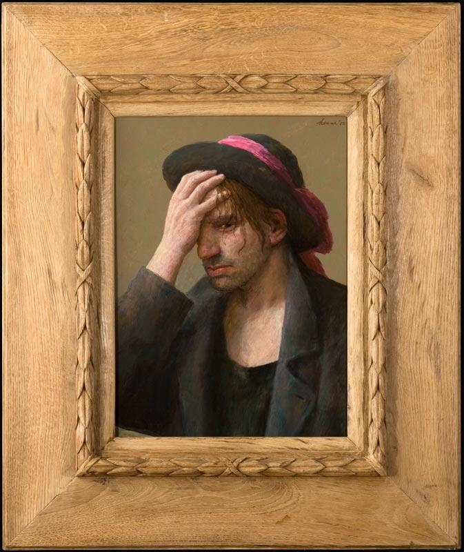 Jonge man – 2012 – 48 x 34 cm – niet beschikbaar