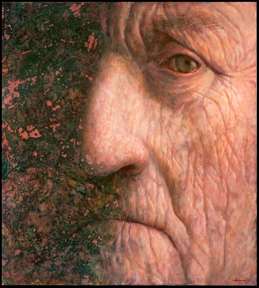 Kijk – 2013 – 90 x 100 cm – acryl op paneel – beschikbaar