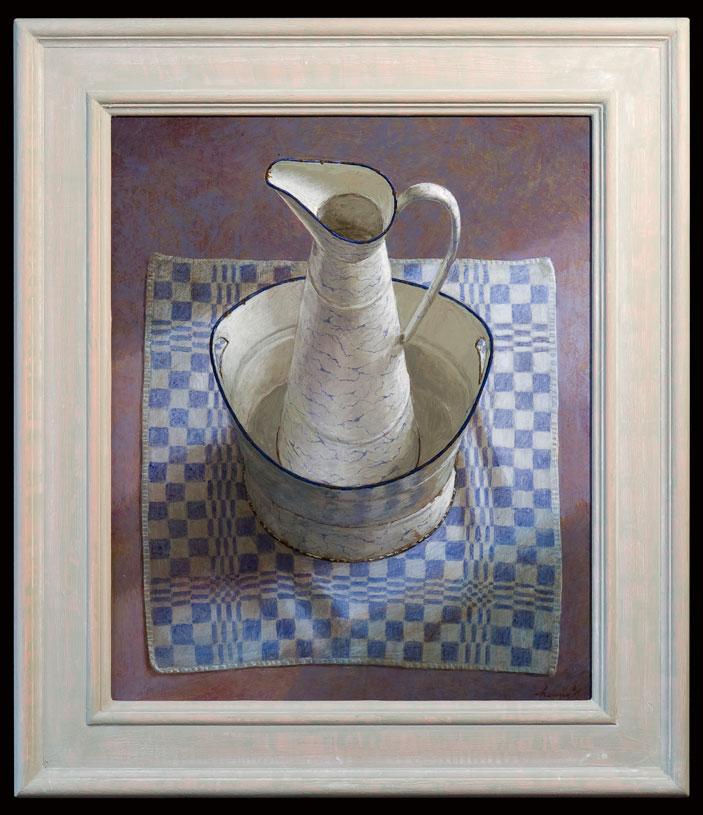 Lampetkan – 2011 – 47 x 56 cm – acryl op paneel