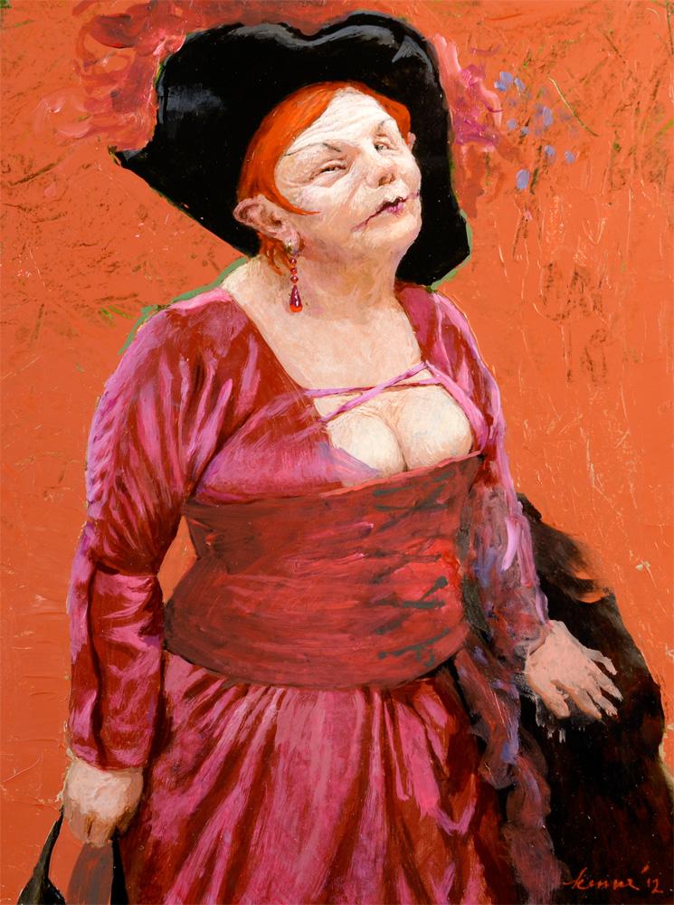 Madame – 2012 – 26 x 35 cm – niet beschikbaar