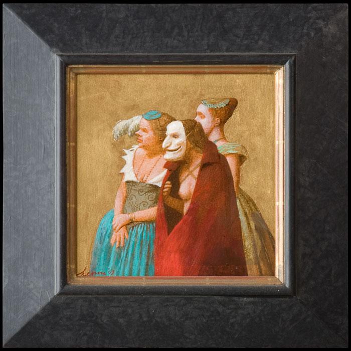Masker I – 2007 -20 x 20 cm – niet beschikbaar