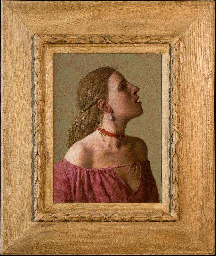 Meisje met pareloorbel – 2012 – 48 x 34 cm – niet beschikbaar