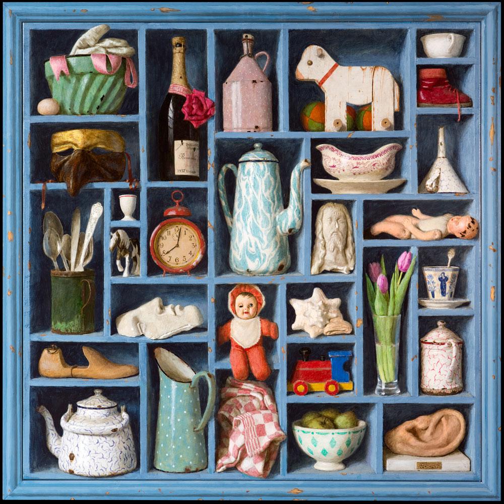 Memories – 2013 – 100 x 110 cm – acryl op linnen – niet beschikbaar