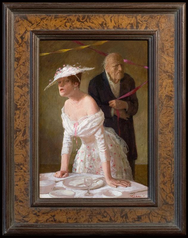 Mooiste dag – 2011 – 35 x 31 cm – acryl op paneel – niet beschikbaar