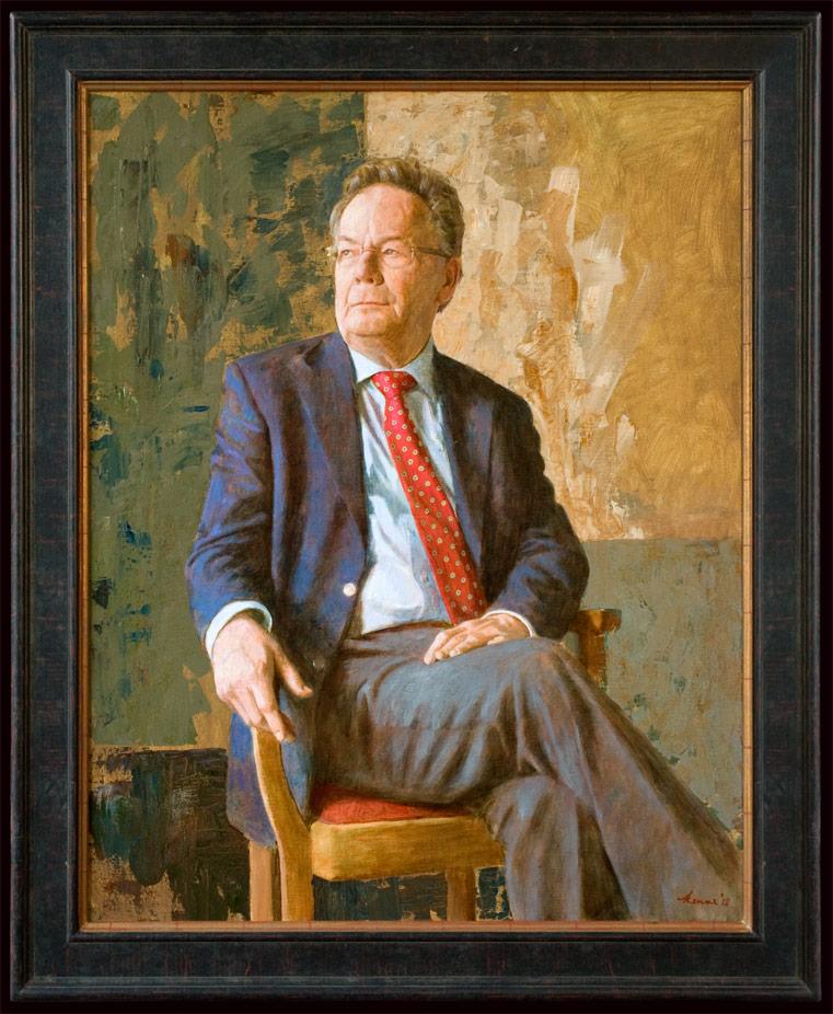 Mr. C. Oostrom – 2012 – 100 x 80 cm – acryl op paneel – niet beschikbaar