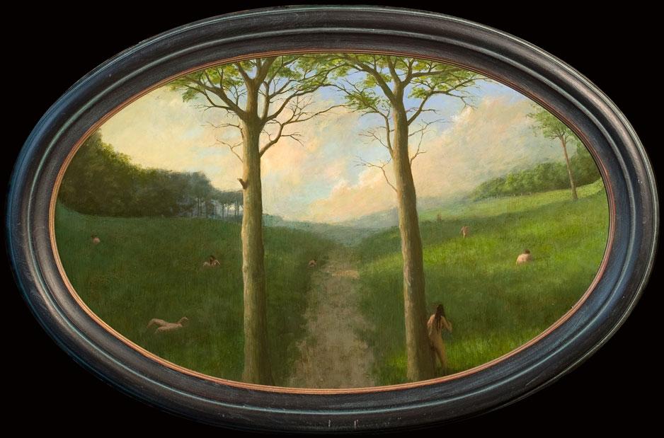 Natuur – 2010 – 77 x 47 cm – acryl op paneel – niet beschikbaar