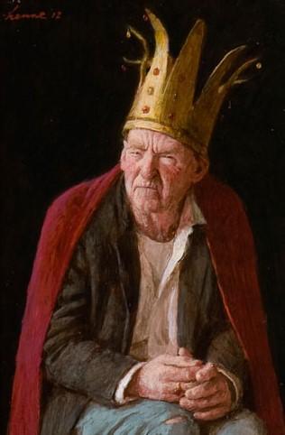 Nukkige Koning - 2012 - 25 x 17 cm - niet beschikbaar