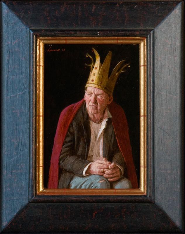 Nukkige Koning – 2012 – 25 x 17 cm – niet beschikbaar