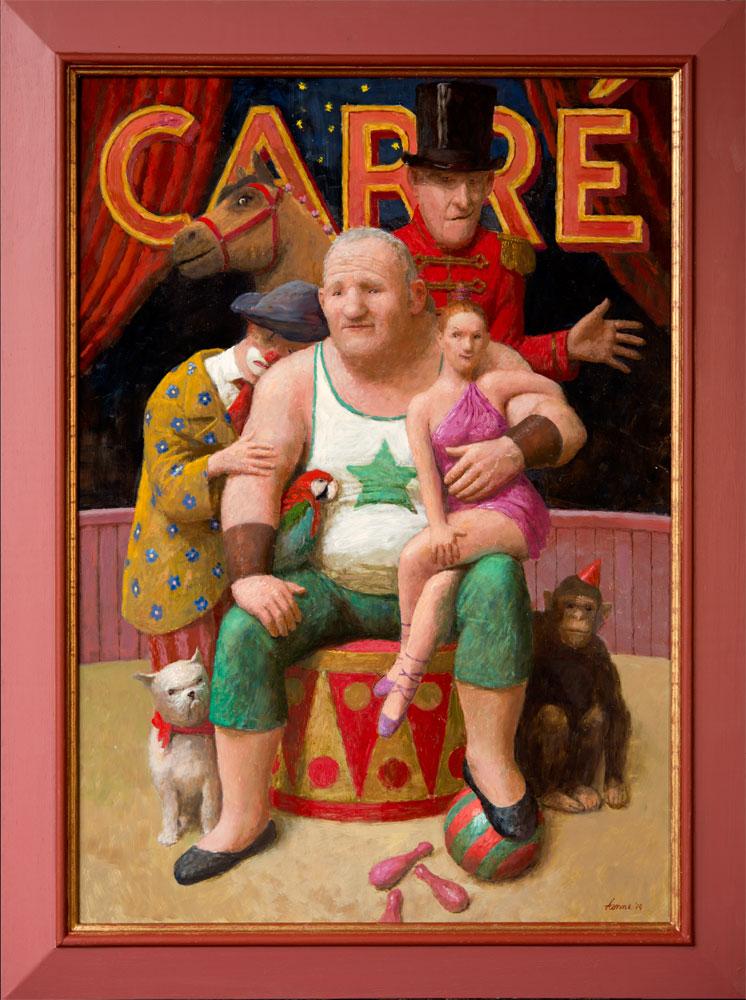 Ontwerp Carré – 2014 – 91 x 65 cm – olie op paneel – niet beschikbaar