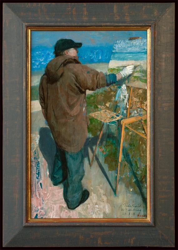 Peter Smit in Domburg – 2012 – 36 x 57 cm – niet beschikbaar