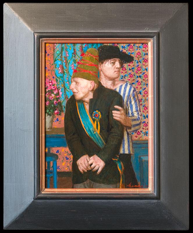 Prijswinnaar – 2010 – 30 x 22 cm – acryl op paneel – niet beschikbaar
