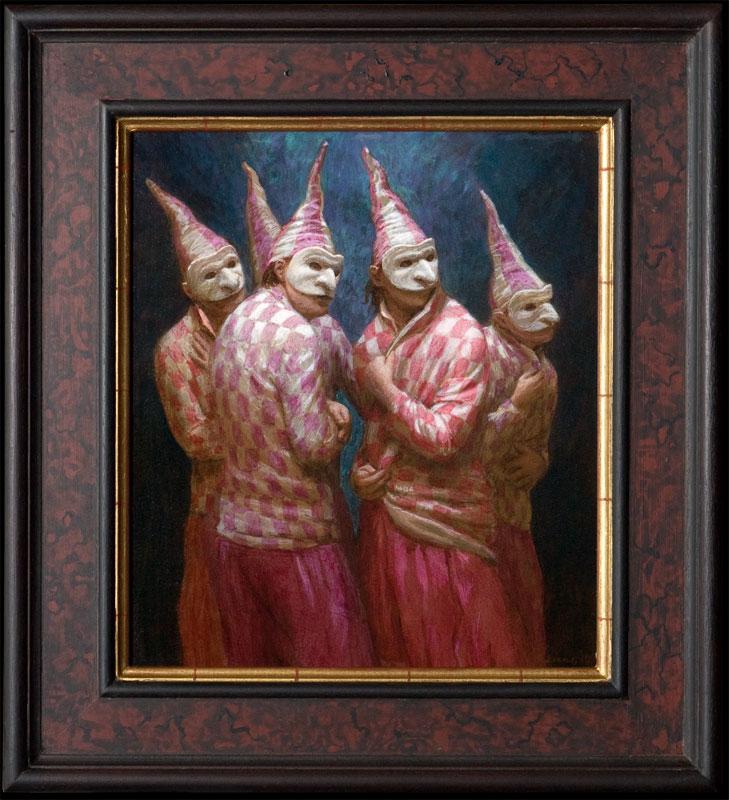 Quintet – 2012 – 40 x 35 cm – niet beschikbaar