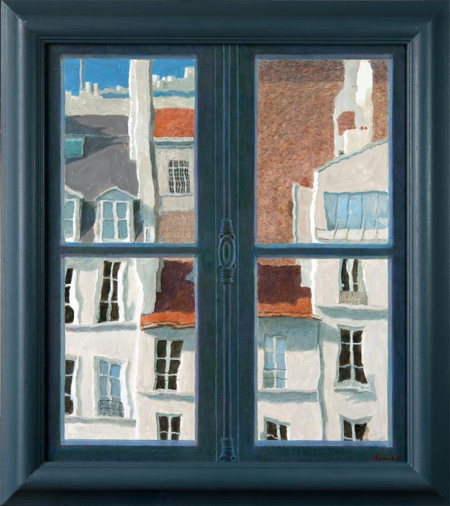Raam Picasso – 2017 – 96 x 86 cm – acryl op linnen – niet beschikbaar