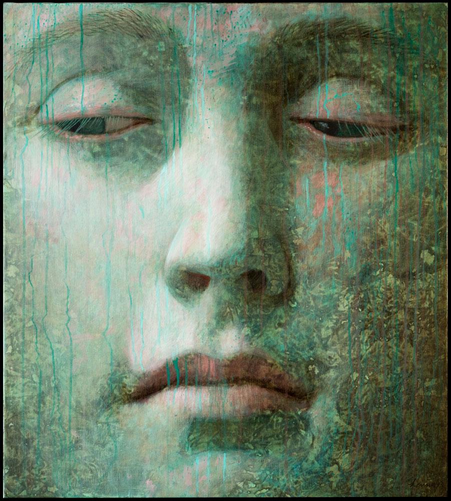 Renaissance – 2013 – 90 x 100 cm – acryl op paneel – niet beschikbaar