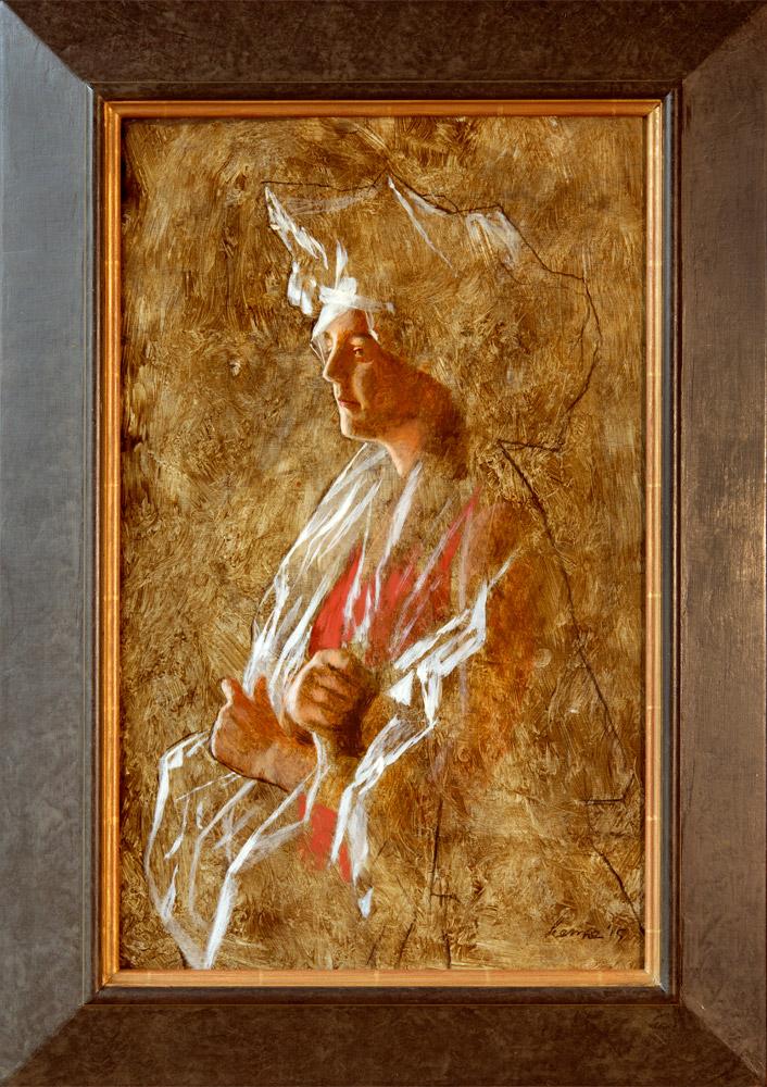 Schets Transparant – 2015 – 60 x 38 cm – acryl op paneel – niet beschikbaar