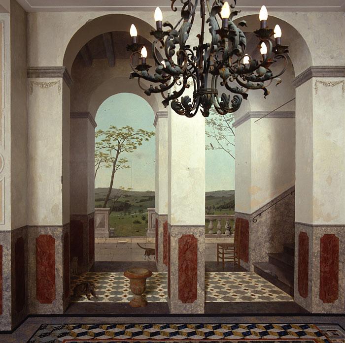 Schildering vergaderzaal Woningbouwvereniging het Oosten Amsterdam 4 – niet beschikbaar