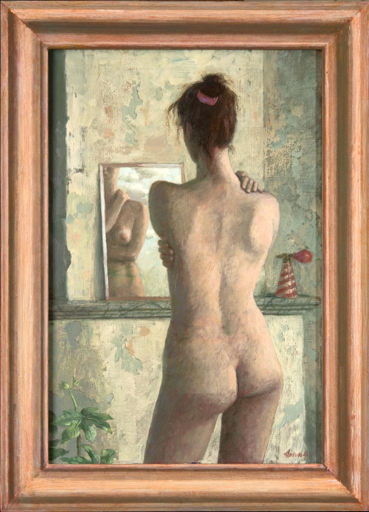 Spiegel – 1996 – 60 x 40 cm – acryl op linnen – niet beschikbaar