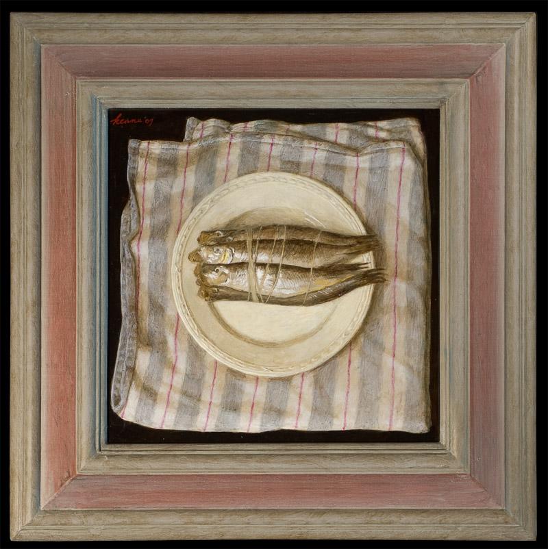 Sprotjes – 2009 – 30 x 30 cm – acryl op paneel – niet beschikbaar