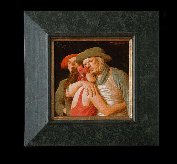 Troostmeisje I – 2007 -20 x 20 cm – niet beschikbaar