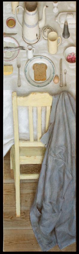 Tussen de middag – 2011 – 170 x 50 cm – acryl op linnen – niet beschikbaar
