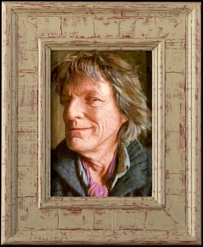 Zelfportret Smile – 2012 – 28 x 20 cm – niet beschikbaar