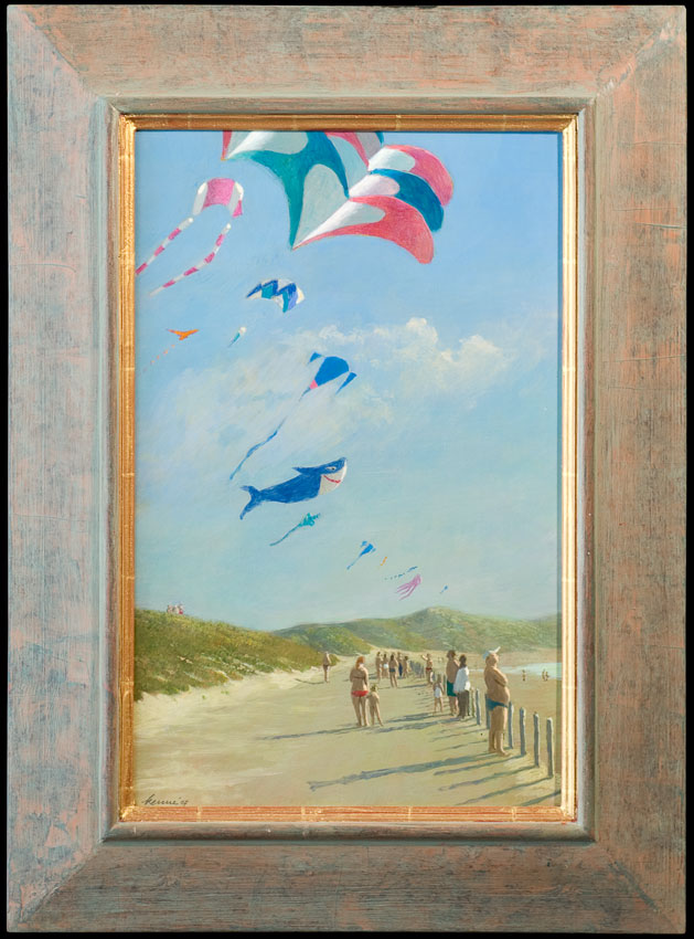 Zoutelande – 2009 – 30 x 46 cm – acryl op paneel – niet beschikbaar