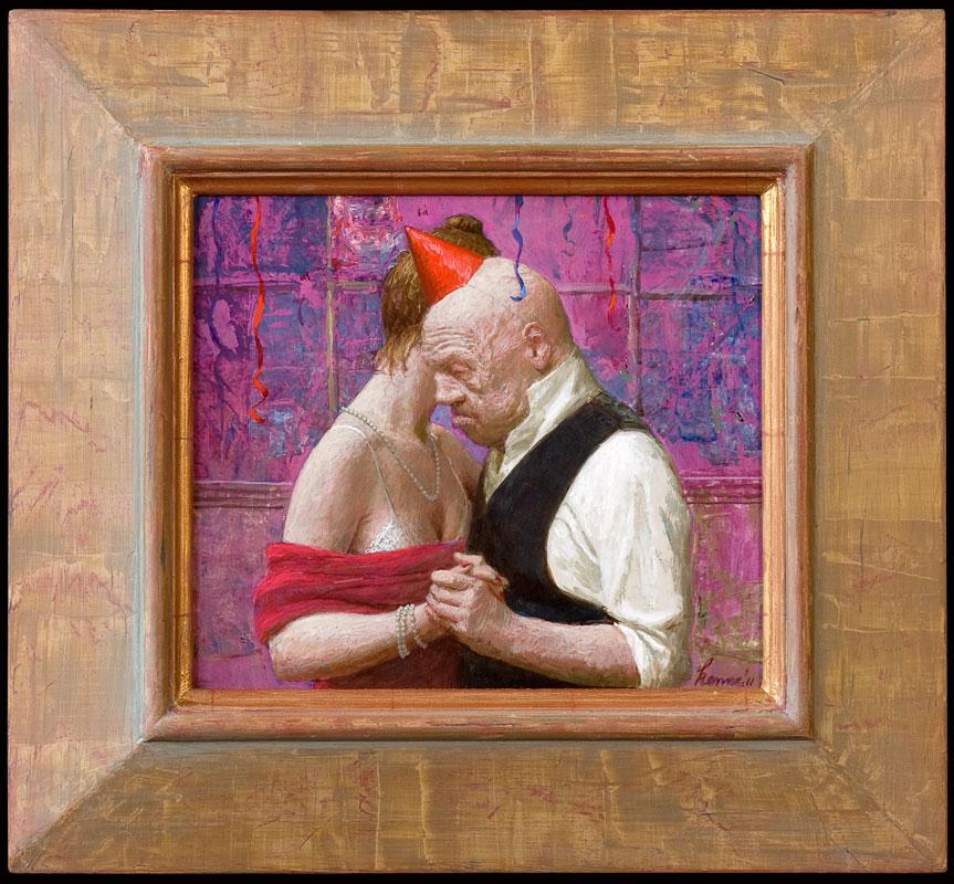 de Dans – 2011 – 23 x 27 cm – acryl op paneel – niet beschikbaar