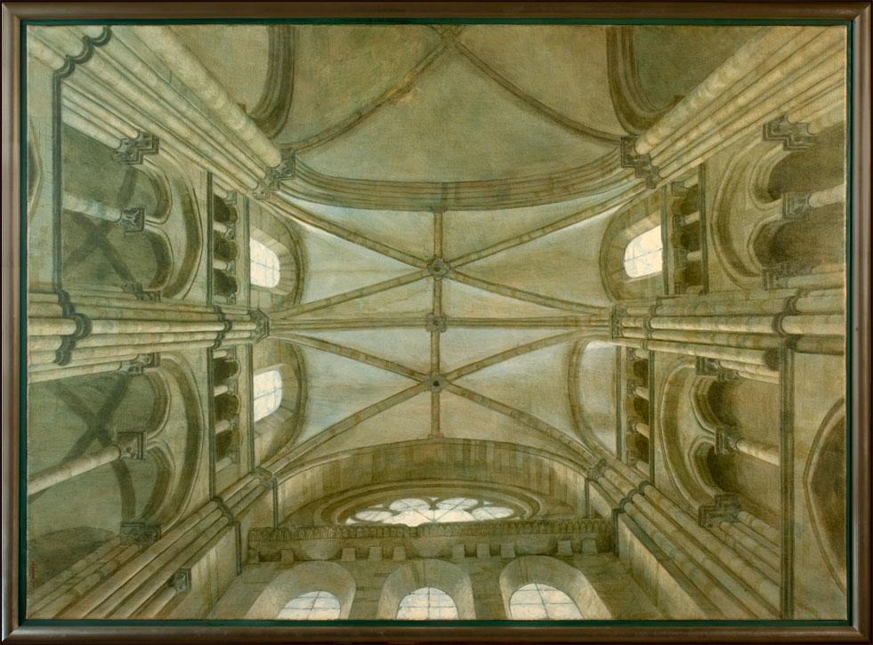 la Cathedrale de mon espoir – 1995 – 150 x 110 cm – acryl op linnen – niet beschikbaar